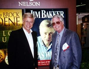 Dan Wooding with Jim Bakker