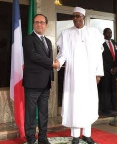 French PM with Nigerian leader