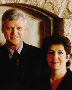 Pastor Mitch and wife Mark Ellis