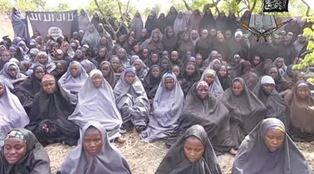 Some of the missing schoolgirls from Chibok