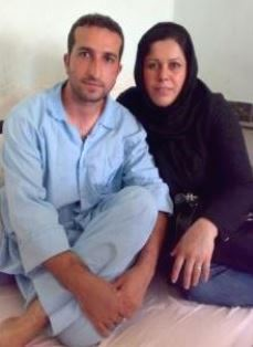 Youcef Nadarkhani and wife Tina