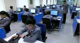 computer lab at Kim il sung university