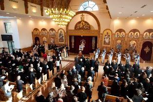 smaller A Coptic service