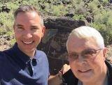 smaller Dan Wooding with Brian Nixon