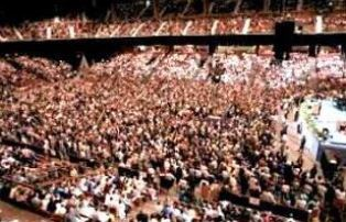 Crowd at Earls Court London