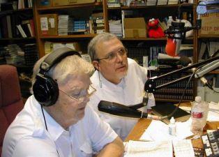Doc Beshore with Glen Megill on radio show