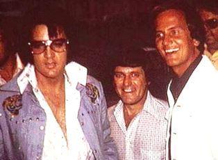 Elvis Presley with Pat Boone