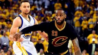 LeBron and Steph Curry