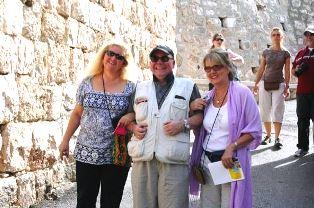 Michael Ireland in Israel