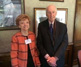 Patricia Johnson with Jack Hayford