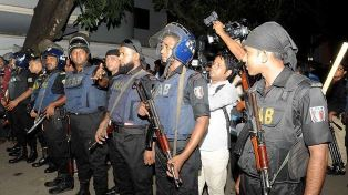 Bangladesh Rapid Action Battalion in Dhaka