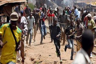 Fulani herdsmen attack a Christian village