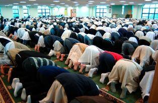 Inside of a Bradford mosque
