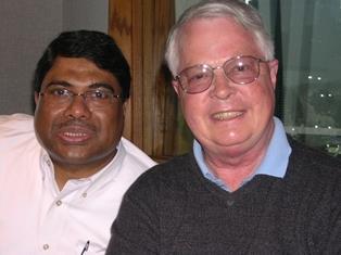 Joseph Dsouza and Dan Wooding at KWVE May 2006