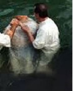Paul baptizes new believer