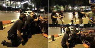 Police take over the promenade in Nice