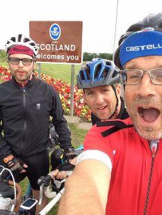 The three clergymen arrive in Scotland