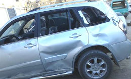 mi the local priests car was smashed 07022016