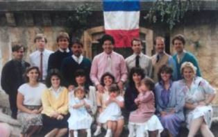 smaller Members at Janey DeMeos church in France