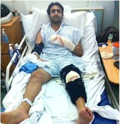smaller UK Pakistani attacked