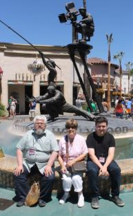 Andrew Norma and Edward at Universal