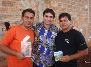 Chibo people with translated scriptures