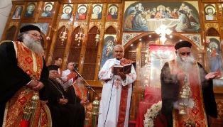 Coptic church service