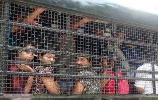 Pakistani asylum seekers arrested in Thailand