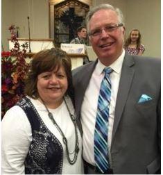 Pastor Randy Hobbs and wife Lisa