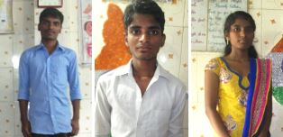 Three young people for HIV story GFA