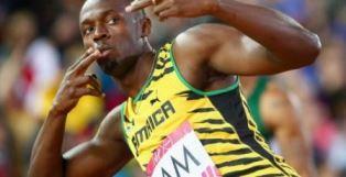 Usain Bolt at Rio Olympics