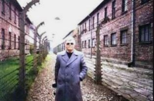 Dan Wooding at Auschwitz
