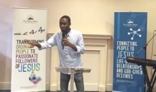 Pastor Paul preaching