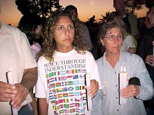 Peace Through Understanding at Amman vigil 2