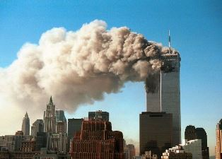 smaller Attack on the Twin Towers use