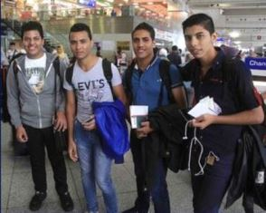 smaller Coptic Teenagers who fled Egypt