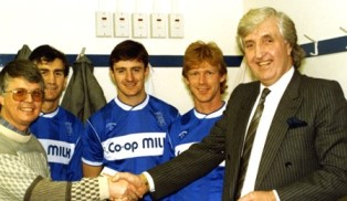 smaller Dan Wooding with John Bond and Blues players