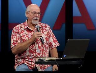 smaller Dr. Steven Collins speaking at CalAlb