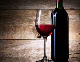 Bottle of Communion wine