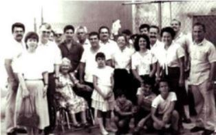 Norma and Dan Wooding with church in Cuba