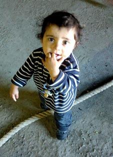 Refugee child 7