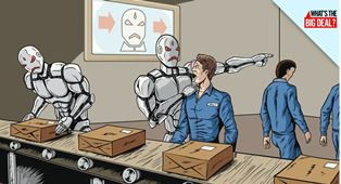 Robots in control