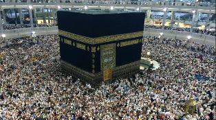 Scene in Mecca