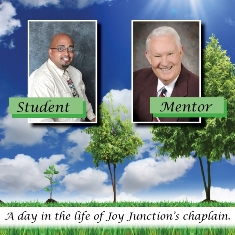 Student and mentor at Joy Junction