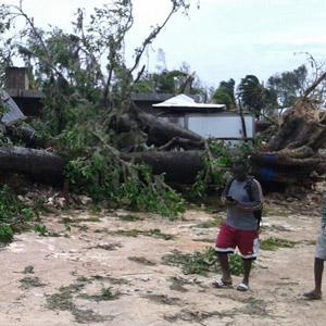 mi Destruction in Haiti in the aftermath of Hurricane Matthew 10 08 2016