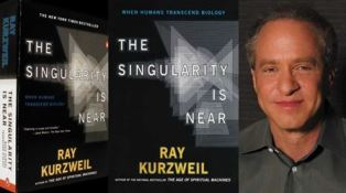 smaller Ray Kurzweil and his book