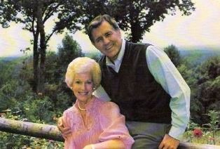 Billie and Cliff Barrows use