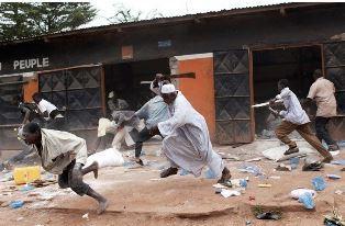 Fulani herdsmen attacking Christians