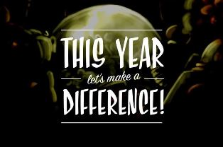 This year lets make a difference