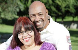 Tony Davis and wife